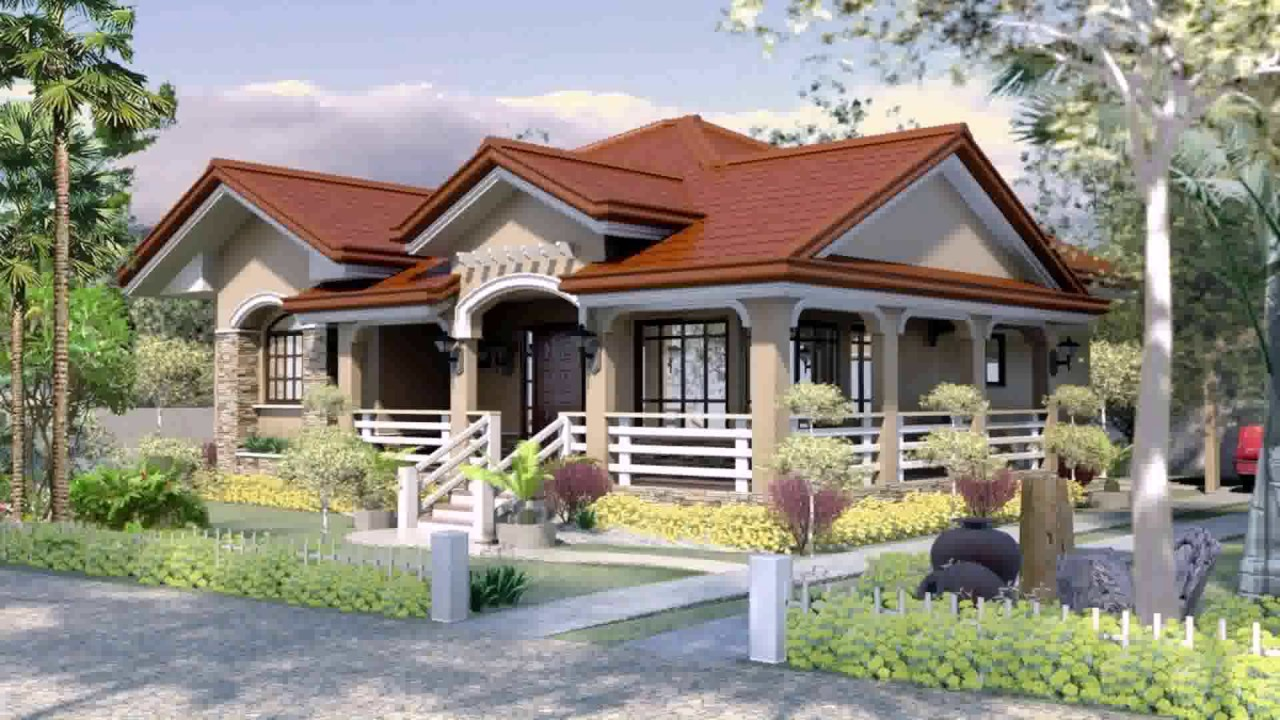3bedroom Model House Design And Floor Plan Philippines